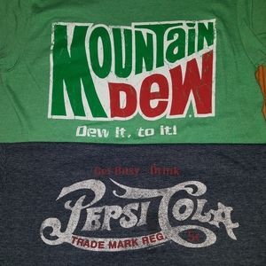 Pepsi Mountain Dew Tshirt